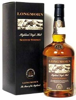 Longmorn Scotch Single Malt Speyside 15 Year